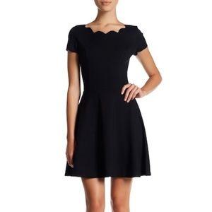 Love.. Ady Cap Sleeve Scallop Trim Dress XS